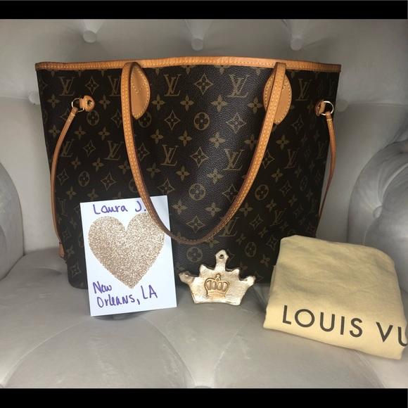 Louis Vuitton Handbags - ♥️SOLD♥️Louis Vuitton Neverfull MM Monogram Piv
